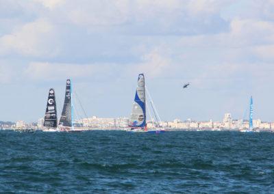 Quelques minutes avant le départ du Vendée Globe 2016 2017